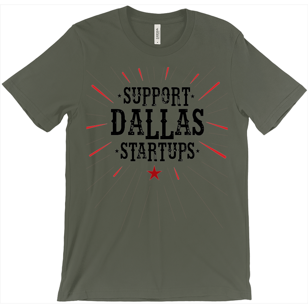 Dallas Startup Support Tee