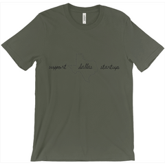 Support Dallas Startups Tee Shirt