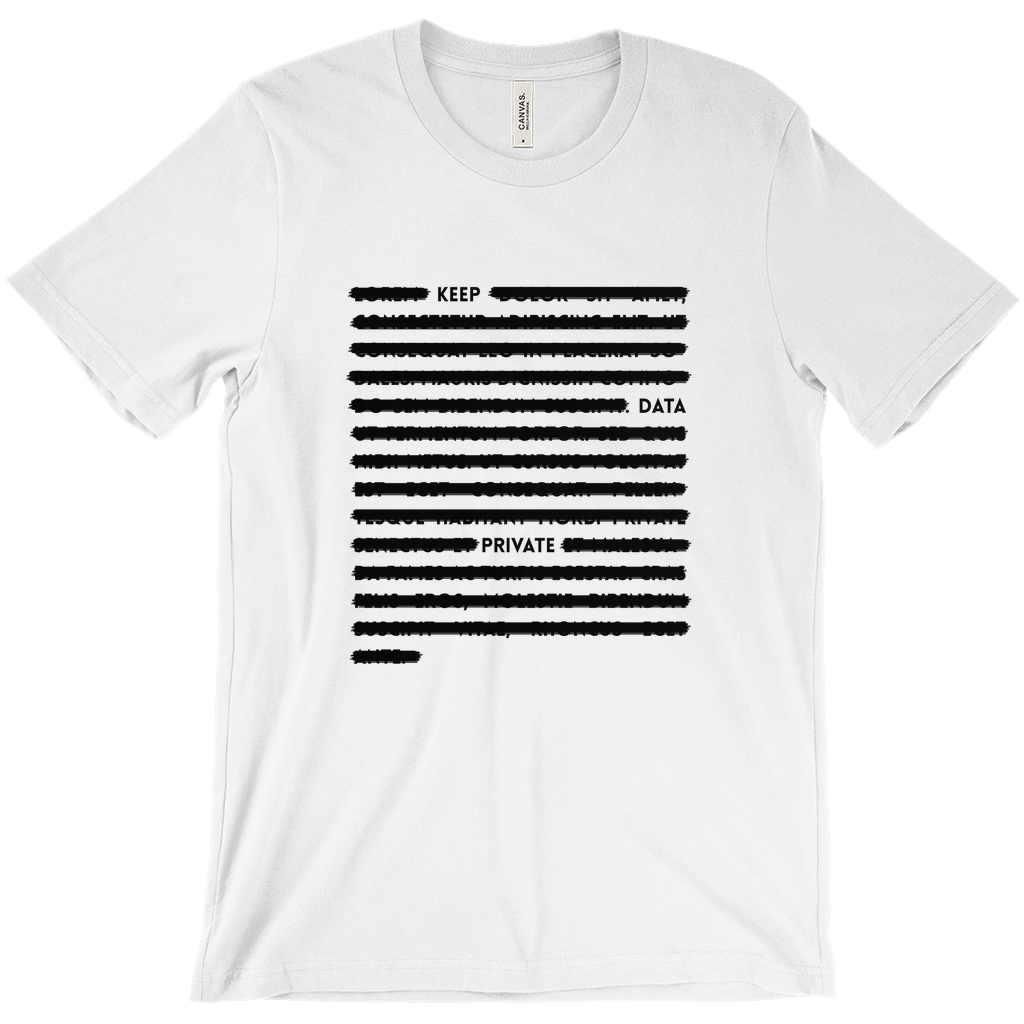 Keep Data Private Tee