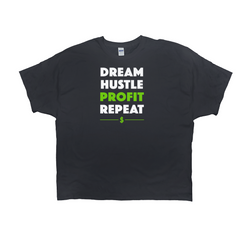 Dream Hustle Profit Repeat Tee