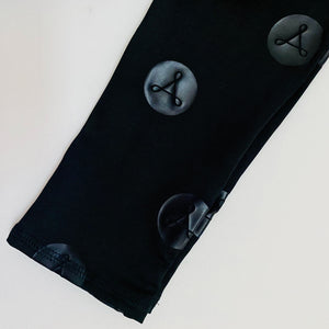365 Full Length Legging - Black Symbols