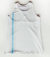 Load image into Gallery viewer, 365 Racerback Tank - Blue Stripe