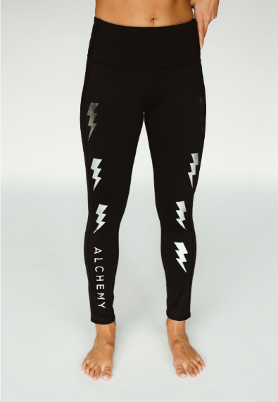 365 Full Length Legging - Lightning Bolt