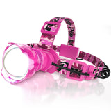 The Lighthouse Beacon 1000 Headlamp - Pink Camo