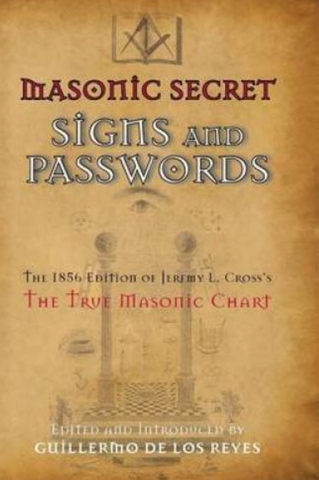 Masonic Secret Signs and Passwords. - The Happy Masons' Shop