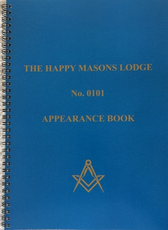 Appearance Book A4 Five Year. - The Happy Masons' Shop