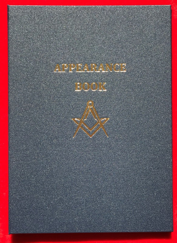 Appearance Book A4 Size - The Happy Masons' Shop