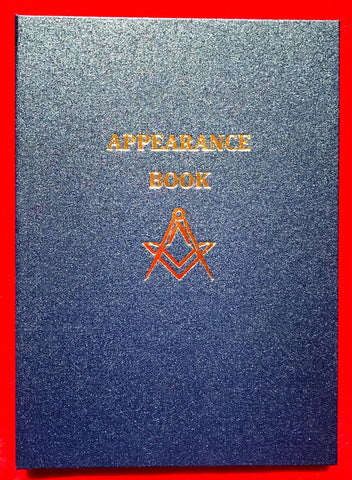 Appearance Book 250 x 350 (Large) - The Happy Masons' Shop