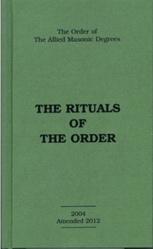 Allied Masonic Degree Rituals 1-5 - The Happy Masons' Shop