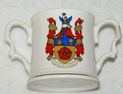 "Masonic Double Handle  Mug ""' Honour & Wisdom "" - The Happy Masons' Shop"