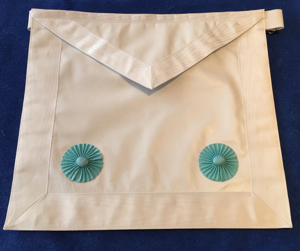 Fellow Craft Standard Lambskin Apron - The Happy Masons' Shop