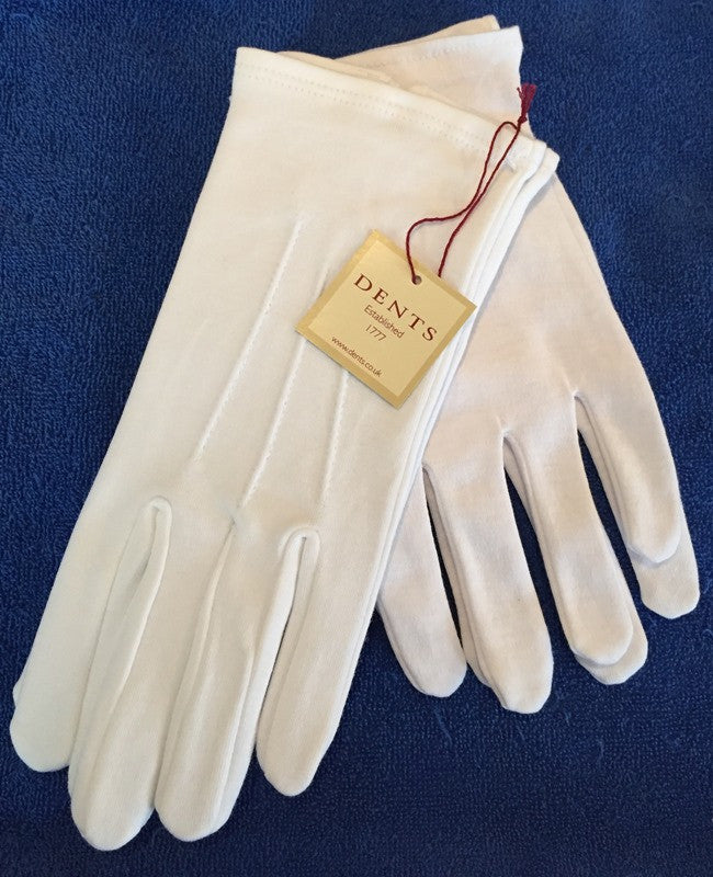 Two Pairs of Dent's Quality Cotton Gloves - The Happy Masons' Shop