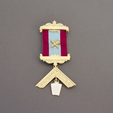 Mark Past Masters Jewel -Silver Gilt - The Happy Masons' Shop