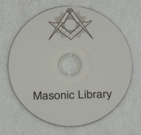 Masonic Library and Artwork on CD. (New) - The Happy Masons' Shop
