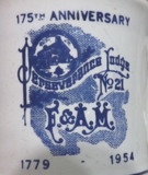 Perseverance Lodge No 29  175th Anniversary  Mug. (Vintage) - The Happy Masons' Shop