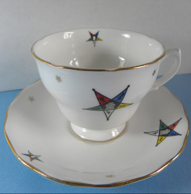 English  Bone China Tea Cup & Saucer. (Vintage) - The Happy Masons' Shop