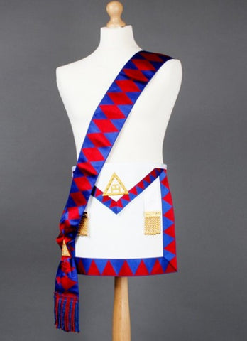 Royal Arch Lambskin Apron & Sash - The Happy Masons' Shop