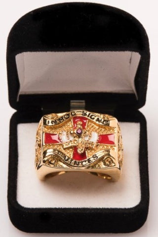 Knight's Templar 18 Carat Gold Plated - The Happy Masons' Shop