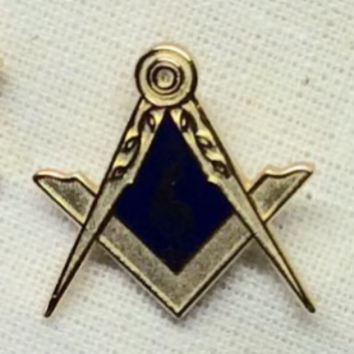 Lapel Badge Gold Plated - The Happy Masons' Shop