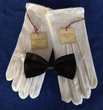 Two pairs of Dents Quality Cotton Gloves plus Bow Tie. - The Happy Masons' Shop