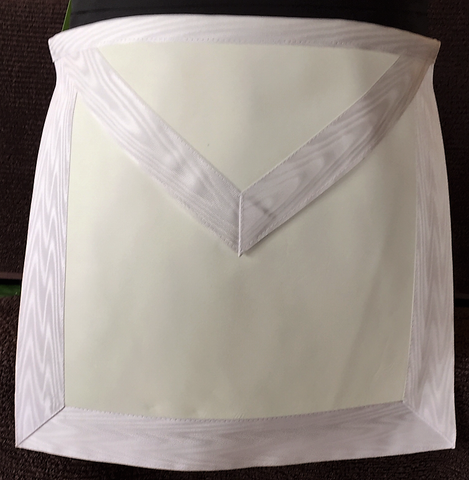EA Deluxe Lambskin Apron. - The Happy Masons' Shop