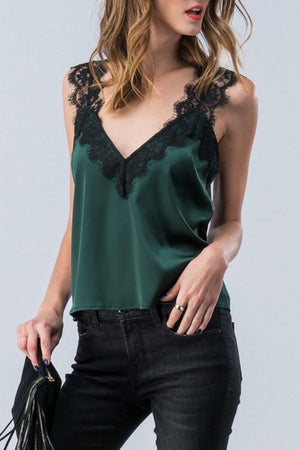 Silky Lace Camisole