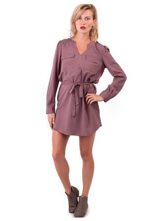 Long Sleeve Shirt Dress Size Medium