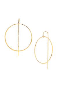 Miranda Frye Circle Hoop Earrings