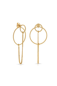 Miranda Frye Double Circle Earrings