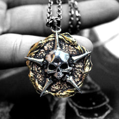 shot of the faction sigil pendant by han cholo