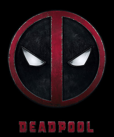 deadpool movie poster for the ryan reynolds blockbuster hit deadpool that was released in 2016