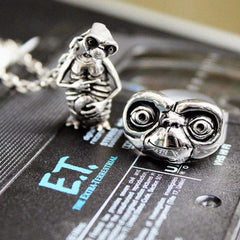 sterling silver ET jewelry from the officially licensed ET collection