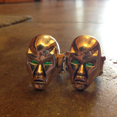 shot of the 2 destro rings from the han cholo GI JOE jewelry collection