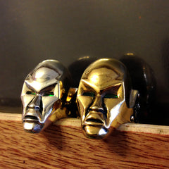 shot of the destro ringss from the han cholo GI JOE jewelry collection