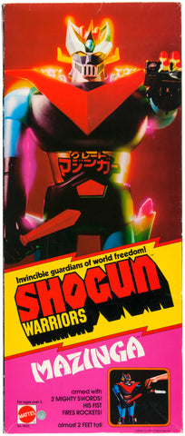 Shogun Warrior Mazinga in Box