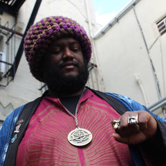 kamasi washington rocking the limited edition sterling silver optimus prime ring