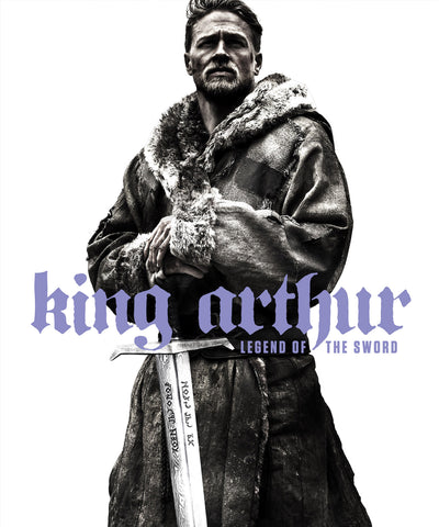 king arthur movie poster starring charlie hunnam from the 2017 movie release