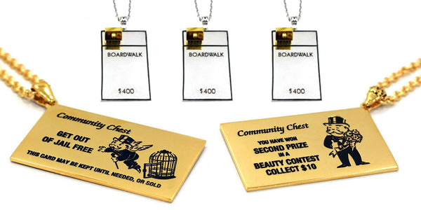 this is the banner for the Monopoly jewelry collection from han cholo