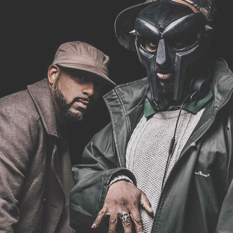 shot of MF doom wearing the doom ring