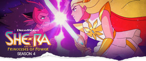 Han Cholo She-ra vs Catra Banner Season 4 launch