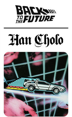 Back to the Future X Han Cholo Collaboration