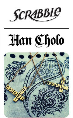 Scrabble X Han Cholo Collaboration