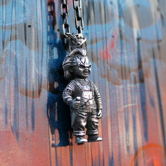 shot of the chucky pendant from the han cholo chucky collection