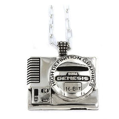 The SEGA Genesis console pendant in sterling silver from the SEGA Jewelry collection