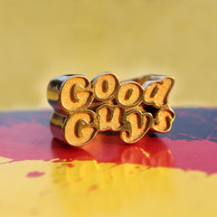 shot of the good guy ring from the han cholo chucky collection