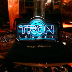 shot of the pendants from the han cholo TRON jewelry collection