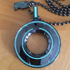 shot of the pendant from the han cholo TRON jewelry collection