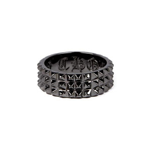 3 Row Spike Ring, Spike Ring, punk ring, rock ring, classy ring, han cholo ring, mens wedding band
