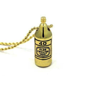40 Oz Pendant Gold Ss Necklaces