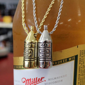 40oz necklace, 40oz jewelry, 40oz pendant, 40oz poster, 40oz song, beer pendant, beer jewelry